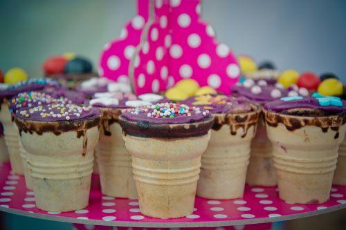 chocolate waffle ice cream cone waffle