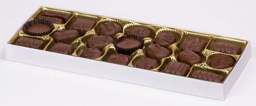 chocolates pralines box