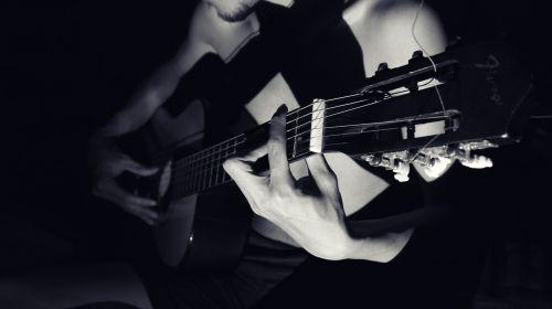 choir musician guitar