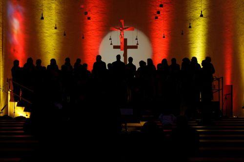 choir church choir light