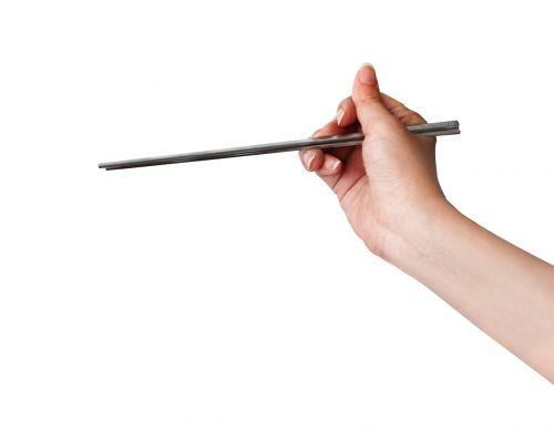 chop sticks hand holding technology