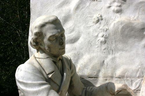 chopin sculpture monument