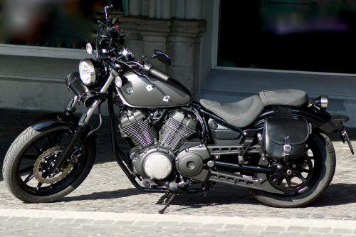 chopper motorcycle road vehicle