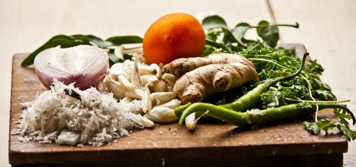 chopping board cutting board vegetables