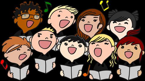 choral  singing  children