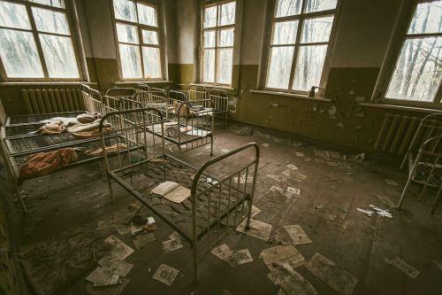 chornobyl ukraine desolate