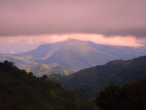 Chorro El Indio Mountains