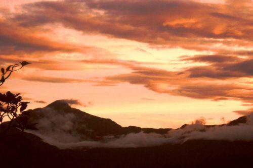 Chorro El Indio Sunset