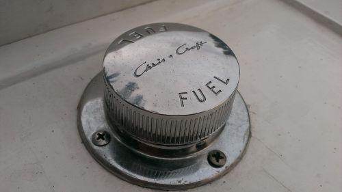 chris craft fuel cap chrome
