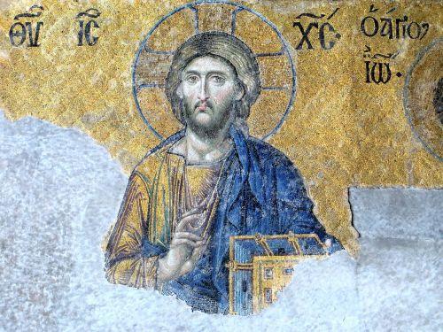 christ icon hagia sophia