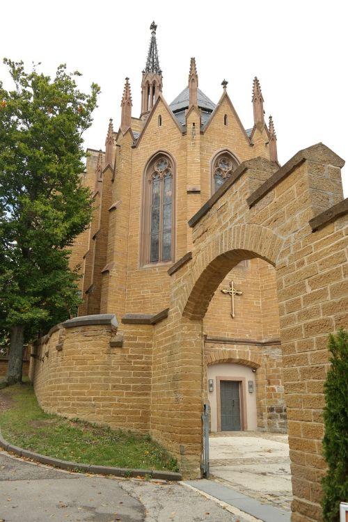 christ chapel castle fortress