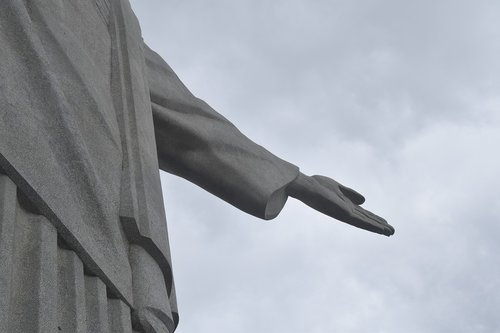 christ the redeemer  the right hand of god  rio