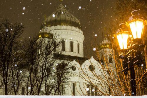 christ the savior cathedral moscow christmas