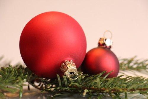 christbaumkugeln  fir green  christmas decoration