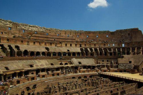 christian colosseo amphitheater