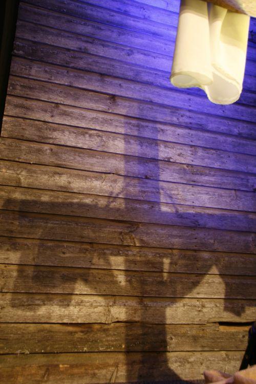 krikščionis, kirsti, Velykos, šešėlis, krikščionių kryžiaus paplūdimio šešėlis