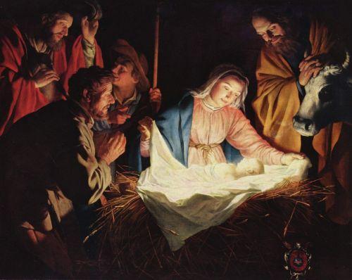 christmas crib stall