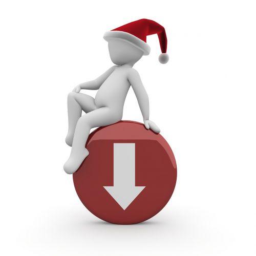 christmas gift santa claus