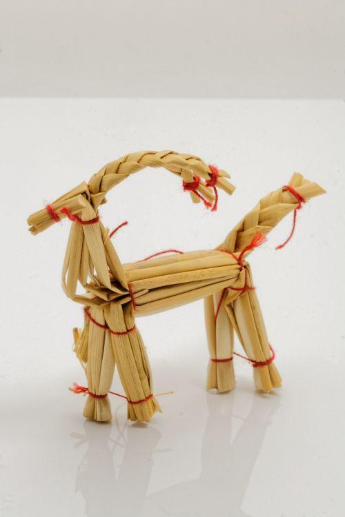 christmas deco straw