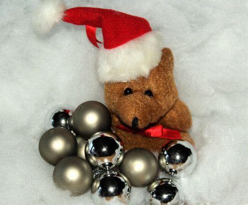 christmas christmas bear snow