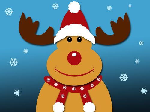 christmas reindeer rudolph