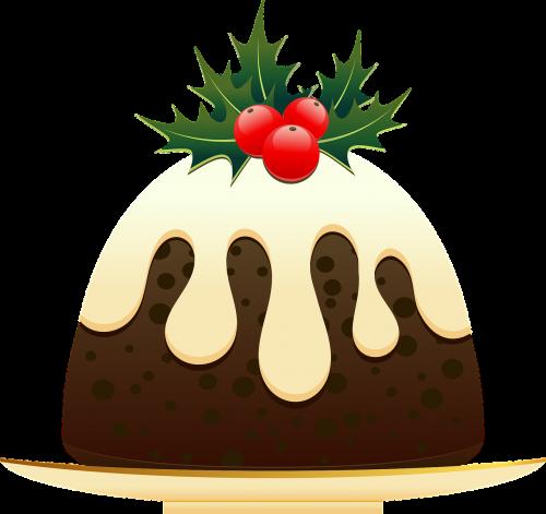 christmas christmas pudding dessert