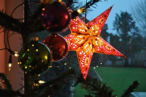 christmas deco star