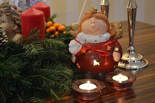 christmas merry christmas candle