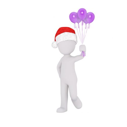 christmas balloon gift