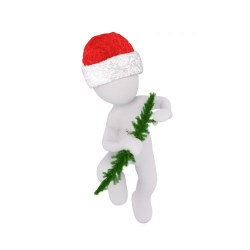 christmas white male full body