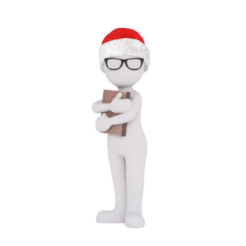 christmas white male full body