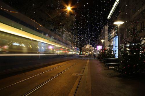 christmas zurich lights
