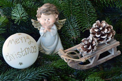 christmas angel angel wings