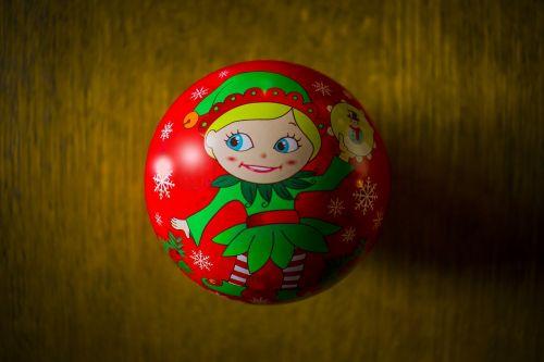 christmas wreath ball