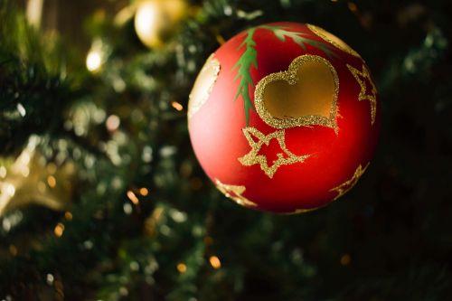 christmas heart love