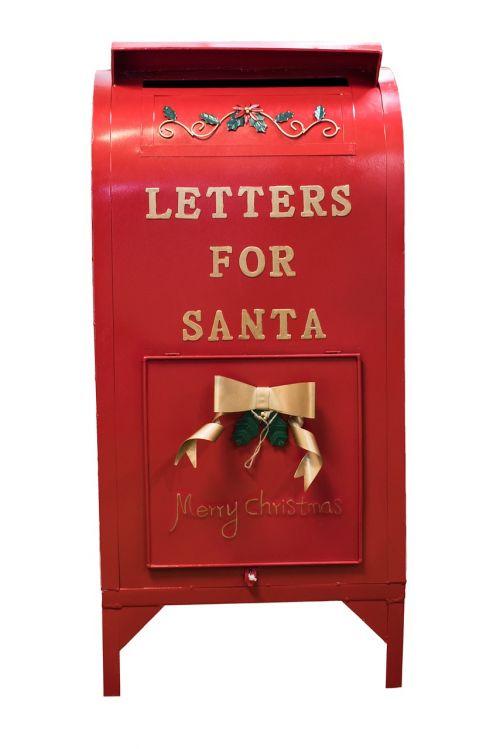 christmas santa mailbox mailbox