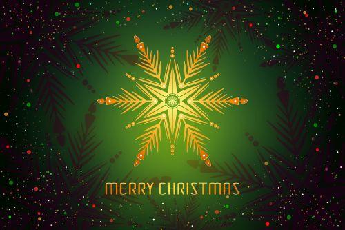christmas snowflake card