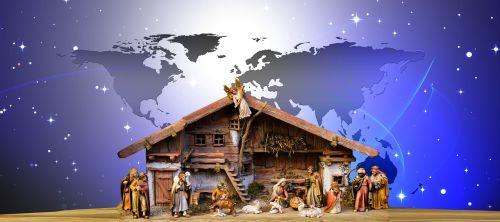 christmas world nativity scene