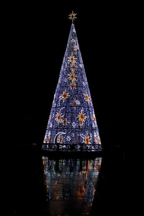 christmas malaga lights