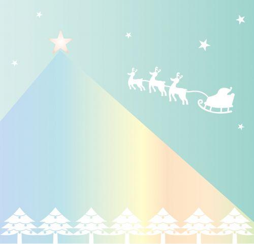 christmas santa rudolf