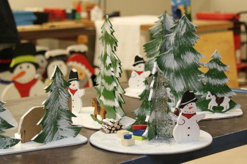 christmas snowmen workshop