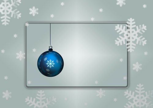 christmas background christmas ornaments