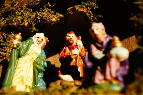 christmas crib advent