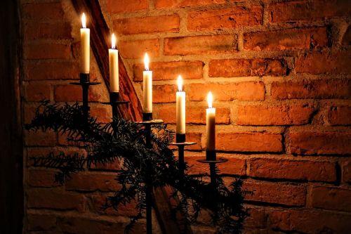 christmas candlelight candlestick