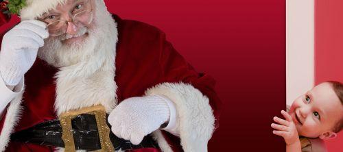 christmas santa claus child