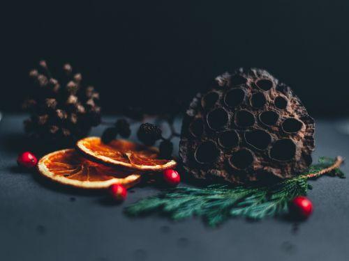 christmas festivity fruit