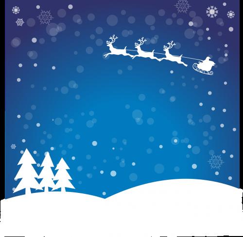 christmas santa claus winter