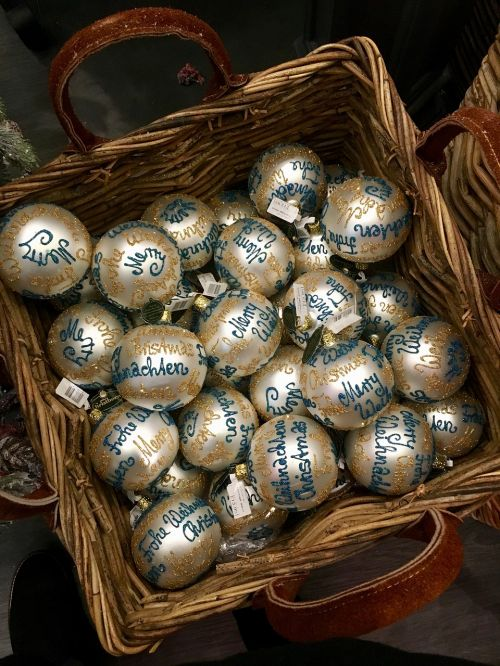 christmas xmas ornaments