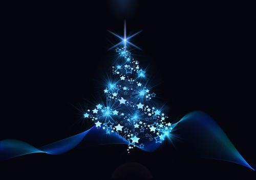 christmas christmas tree background