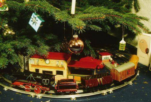 christmas toys railway